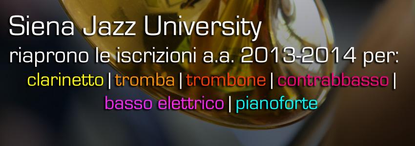 Riapertura Iscrizioni SJU 2013-2014