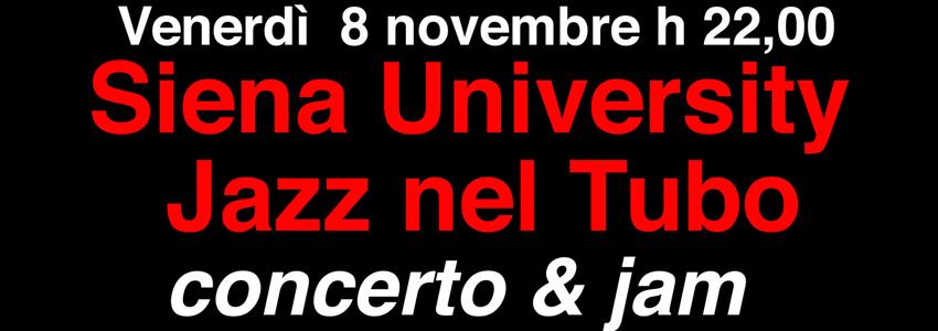 Siena Jazz University nel Tubo