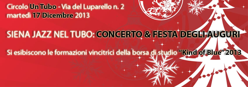 Concerto & Festa degli Auguri