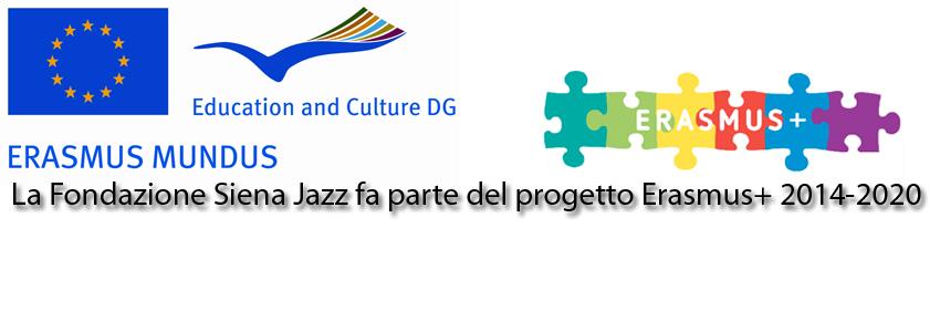 Siena Jazz ed Erasmus +