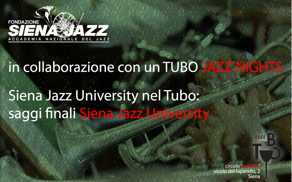 Saggi Finali Siena Jazz University