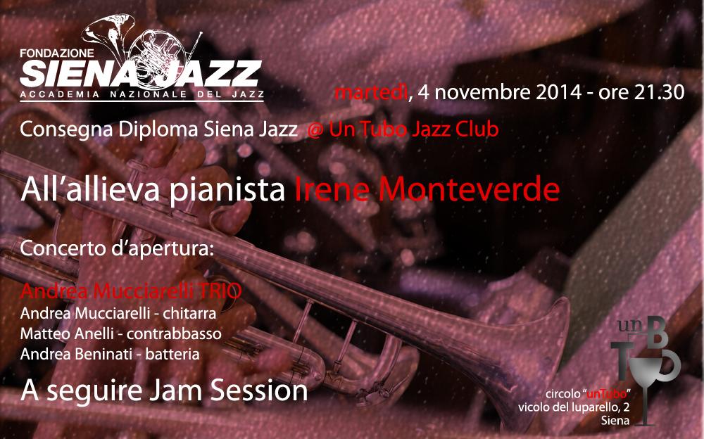 Diploma Siena Jazz @Un Tubo